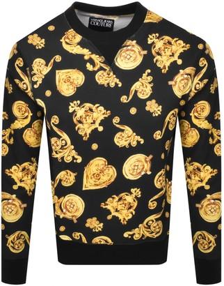 Versace Logo Sweatshirt Black