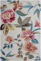 Asstd National Brand Floral Rectangular Area Rug