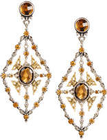 Konstantino Thalassa Quartz Kite Chandelier Earrings