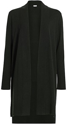 Akris Punto Wool Cashmere Long Knit Cardigan