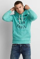 American Eagle Outfitters AE Heathered Graphic Hoodie