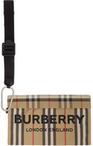Burberry Beige Vintage Check Pouch