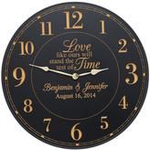 Personal Creations Personalized Test Of Time Wedding Clock