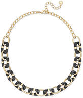Charter Club Colored-Link Statement Necklace, Created for Macy's