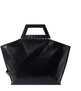 Atribut Leather Shopper Bag - Tempo - Black