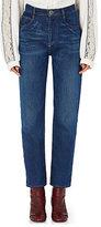 Chloé Women's Straight-Leg Ankle Jeans-NAVY