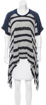 Yigal Azrouel Asymmetrical Striped Tunic