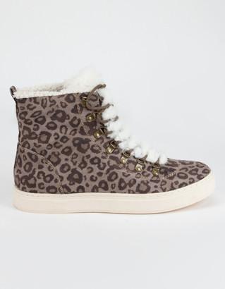 Billabong Take A Hike Leopard Womens Shoes