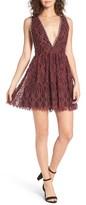 NBD Women's Starry Night Lace Minidress