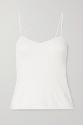 FRANCES DE LOURDES Bette Cashmere And Silk-blend Camisole