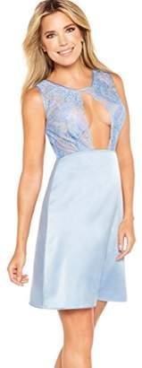 Sylvie Flirty Lingerie Women's Aodina Negligee,6 (Manufacturer Size: 34)