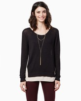 Charming charlie Jensen Knit Top