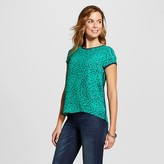 ISANI for Target Women's Ditsy Printed Crepe Woven Top