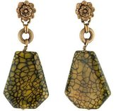 Stephen Dweck Dyed Quartzite Drop Earrings