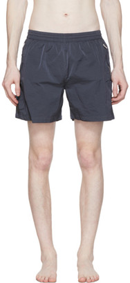 Filling Pieces Blue Nylon Cord Shorts