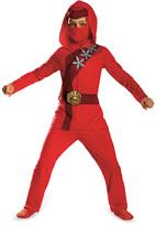 Disguise Red Fire Ninja Dress-Up Set - Kids