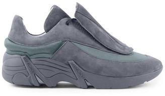 Raf Simons Antei Suede & Textile Sneakers