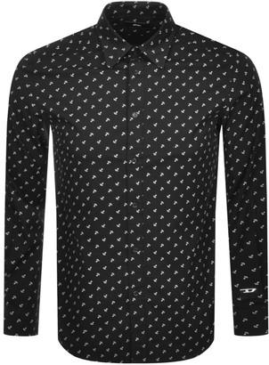 Diesel S Riley Long Sleeved Shirt Black