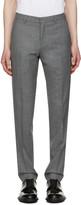 Ami Alexandre Mattiussi Grey Wool Trousers