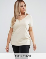 Asos Ultimate V Neck Slouchy T-Shirt