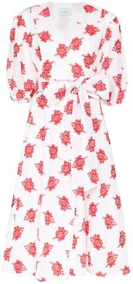 Erdem Marguerite floral-print midi dress