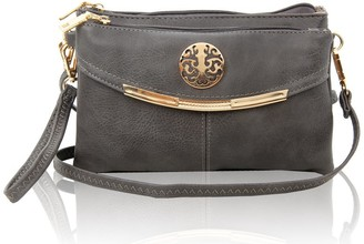Redfox Small Multi Compartments Cross-body Messenger Bag/Shoulder Handbag 4 Compartments Organiser For Women Size 22x15x7cm