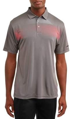 Hogan Ben Men's Performance Short Sleeve Printed Golf Polo Shirt, up to 5XL
