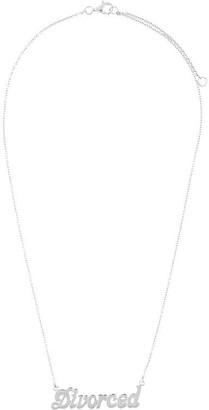 True Rocks 'Divorced' necklace