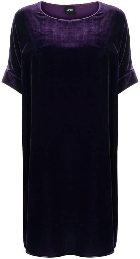 Aspesi oversized shift dress