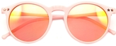 Wildfox Couture Sun Steff Mirror Sunglasses in Pink