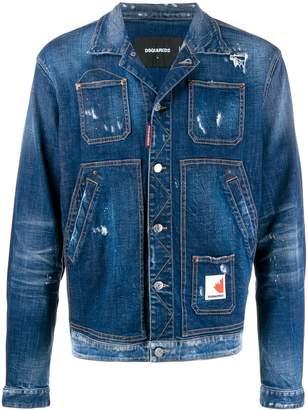 DSQUARED2 Over denim jacket