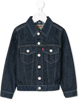 Levi's Kids - chest pockets denim jacket - kids - Cotton - 10 yrs