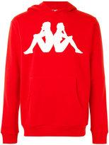 Kappa logo patch hoodie - men - Cotton/Polyester - L