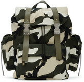 Valentino Green New Camo Rockstud Backpack
