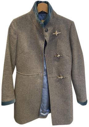 Fay Grey Wool Coats