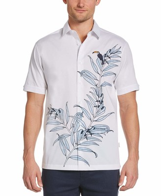 Cubavera EcoSelect Tropical Toucan Shirt