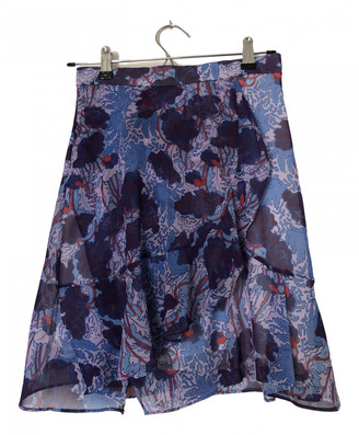 Carven Purple Polyester Skirts