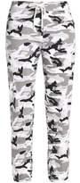 Monrow Printed Jersey Track Pants
