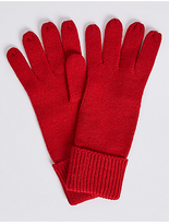 M&S Collection Water Repellent Gloves