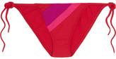Eres Vanishing Point Bikini Briefs - Bright pink