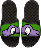 ISlide Teenage Mutant Ninja Turtles Donatello Slide Sandal, Black