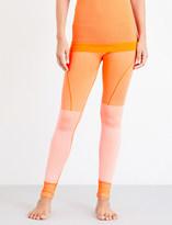adidas by Stella McCartney Yoga high-rise knitted leggings