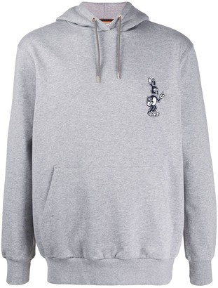 Paul Smith Rabbit embroidered hoodie