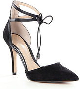 Gianni Bini Renell Ankle-Strap Pointed-Toe Pumps