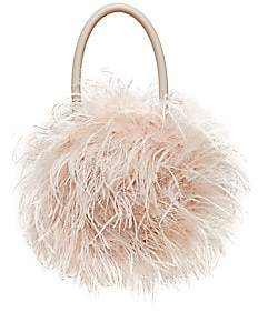 Loeffler Randall Women's Zadie Feather Top Handle Bag