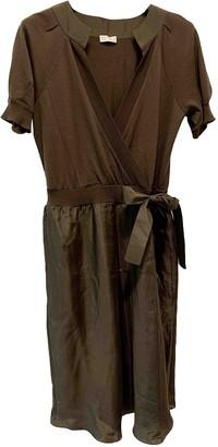 Brunello Cucinelli Brown Wool Dresses