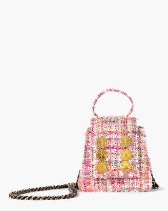 Kooreloo Monaco Tweed Mini Bag