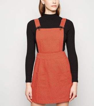 New Look Sunshine Soul Mini Pinafore Dress
