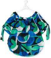 Loredana - tied sleeves blouse - kids - Silk/Cotton - 14 yrs