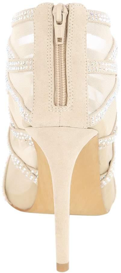 Jane Norman Diamante Cage Heels